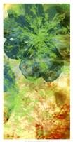 Teal & Silhouettes II Fine Art Print