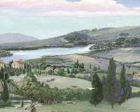 Lavender Tuscany I Fine Art Print
