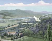 Lavender Tuscany II Fine Art Print