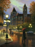 Rainy Twilight Fine Art Print