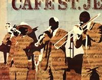 Cafe St. Jean Fine Art Print