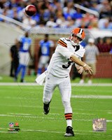 Brandon Weeden 2012 football Fine Art Print