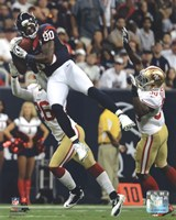 Andre Johnson 2012 Action Fine Art Print