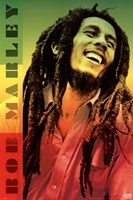 Bob Marley - Colors Wall Poster