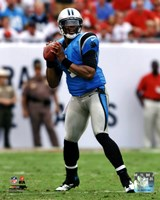 Cam Newton 2012 Action Fine Art Print
