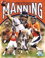 Peyton Manning 2012 Portrait Plus Framed Print