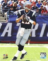 Tom Brady 2012 Action Fine Art Print