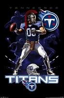 Titans Quarterback 12 Wall Poster