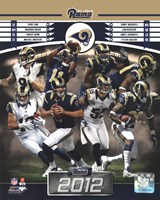 St. Louis Rams 2012 Team Composite Fine Art Print