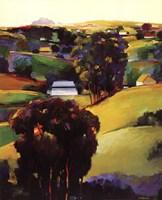 Eucalyptus Hills Fine Art Print