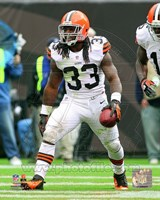 Trent Richardson 2012 Action Fine Art Print