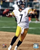 Ben Roethlisberger 2012 Action Fine Art Print