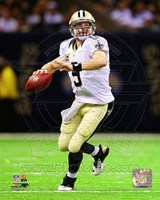 Drew Brees 2012 Action Fine Art Print