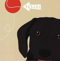 Peek-A-Boo Labrador Fine Art Print