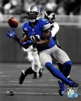 Calvin Johnson 2012 Spotlight Action Fine Art Print