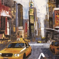 Bright Lights, Big City II Fine Art Print