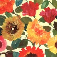 Fall Garden I Fine Art Print