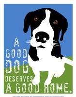 A Good Dog Fine Art Print