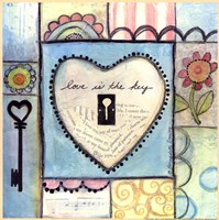 Love is the Key Fine Art Print