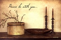 Peace Be With You Fine Art Print