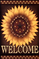 Sunflower Welcome Fine Art Print