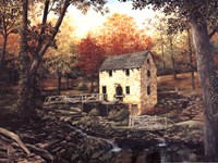 Old Mill Stream V Fine Art Print