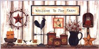 Welcome to the Farm Fine Art Print