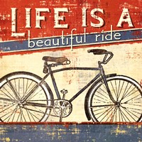 Beautiful Ride I Framed Print
