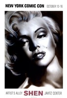 Marilyn, Silver Fine Art Print