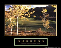 Golf-Success Fine Art Print