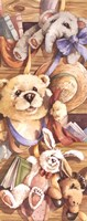 Teddy Bear Playtime Fine Art Print