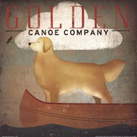 Golden Dog Canoe Co. Framed Print