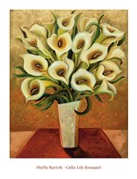 Calla Lily Bouquet Fine Art Print