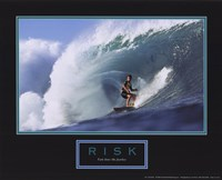 Risk-Surfer Fine Art Print