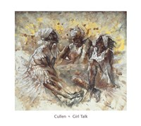 Girl Talk Fine Art Print