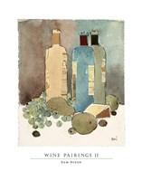 Wine Pairings II Fine Art Print