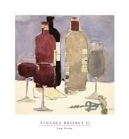 Vintage Reserve II Fine Art Print