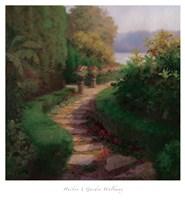 Garden Walkway Fine Art Print
