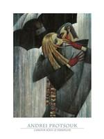 L'Amour sous le Parapluie Fine Art Print