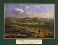 Winning-Irish Links Framed Print
