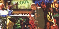 Cool Jazz Fine Art Print