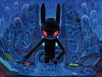 DJ BlackRabbit Fine Art Print