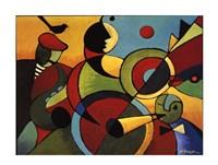 Jazz Panel 2 Fine Art Print