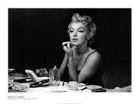 Marilyn Monroe- Back Stage Fine Art Print