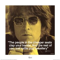 John Lennon- Clap Your Hands Fine Art Print