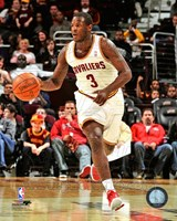 Dion Waiters Dribbling The Basketball Fine Art Print