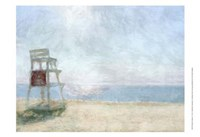 Beach Lookout I Fine Art Print