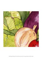 Vegetable Melange III Framed Print