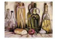 Pasta and Olive Oil Framed Print