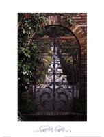 Garden Gate - Filoli, CA Fine Art Print